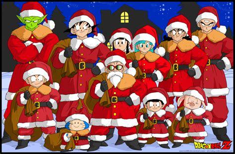 imagenes goku navidad feliz navidad by sauron88 on deviantart