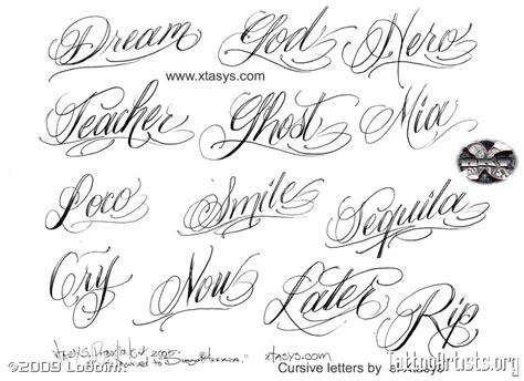 Meme Font Style - name tattoo cursive letters