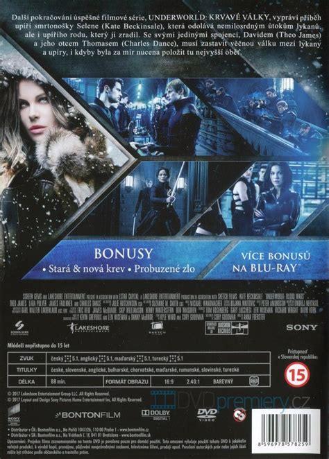 underworld film cz underworld krvav 233 v 225 lky dvd dvd premiery cz