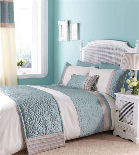 Duck Egg Blue Bedding Sets Fresh Duck Egg Blue Make This Bedding Set A Beautiful Addition To Any Bedroom Http Www