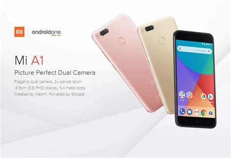 xiaomi mi a1 xiaomi mi a1 5 5 inch 4 64gb android one dual camera