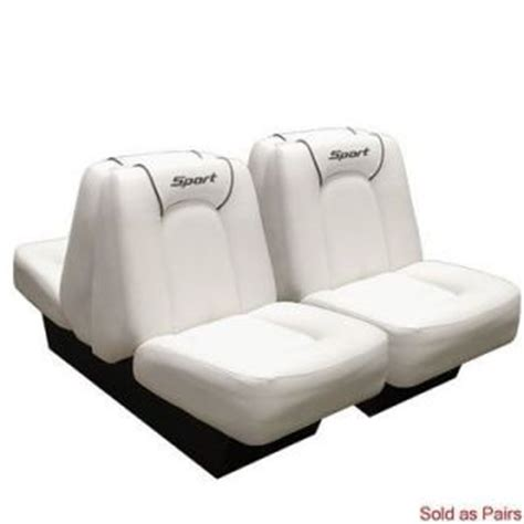 boat seats sea ray four winns m1849ab sea ray white light tan boat seat single