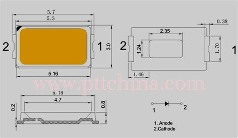 how to measure diode size smd diode sizes images