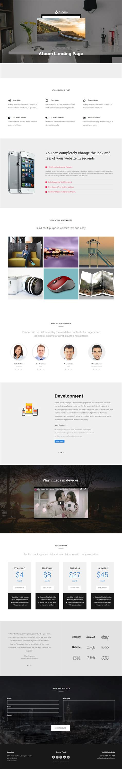 Drupal Theme Landing Page | 10 best drupal landing page themes 2017 responsive miracle