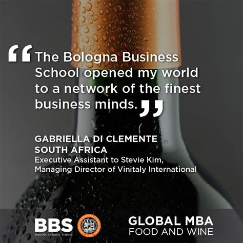 Mba Wine Marketing And Management by Global Mba Food And Wine Bbs