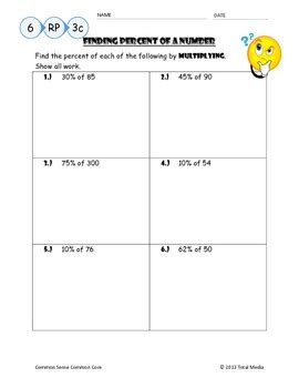 Percent Proportions Worksheet by Percent Proportion Worksheet Worksheets For School