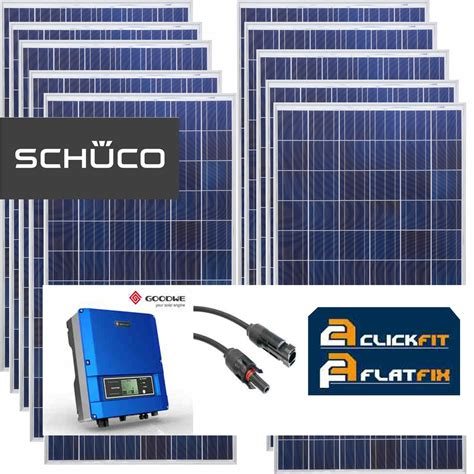 zonnepanelen pakket aanbieding 18 zonnepanelen doe het zelf pakket 3780 wp duurzame