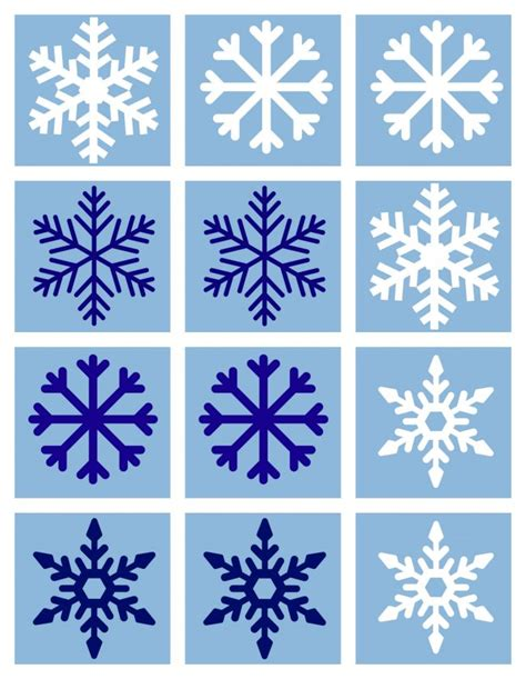 free printable winter board games free printable match game for winter no time for flash cards