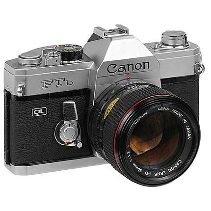 Slr Canon Ftb Analog Bukan Digital used canon ftb 35mm slr w 50mm 1 8 fd f brand shops canon at unique photo
