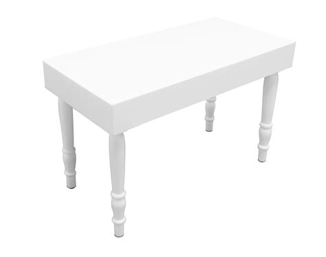White Rectangular Dining Table Rent Or Buy Avalon Rectangular White Dining Table Event Rental Dubai Uae Areeka Event Rentals