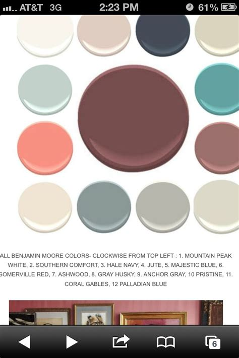 palladium blue coordinating colors paint palettes home sweet home