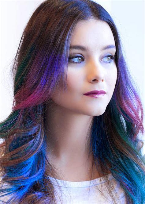 colores para el pelo 60 fotos moda cabellos mechas de colores 2015