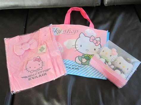 Hello Kitty Giveaways - giveaway hello kitty jet swag one mile at a time
