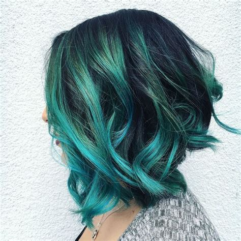 hairstyles with teal highlights the 25 best teal highlights ideas on pinterest teal