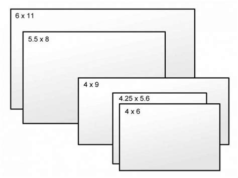 A Guide To Postcard Sizes Toughnickel Jumbo Postcard Template