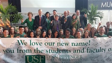 Usf Mba How Many Credits by Usf Accounting School Takes Name Of Successful Alum Wusf