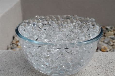 Hidrogel Hydrogel Waterbead Waterbeads Sensoric 10 Gram 20gram clear water aqua gems bio gel balls soil wedding vase decoration in