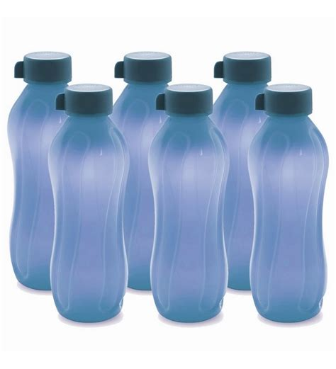 Pp Aqua cello aqua kool pp bottle 1100 ml set of 6 l blue by cello bottles kitchen