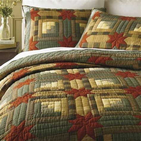 Cheap Quilts by Cheap Quilt Colorado Log Cabin Quilt Only King King