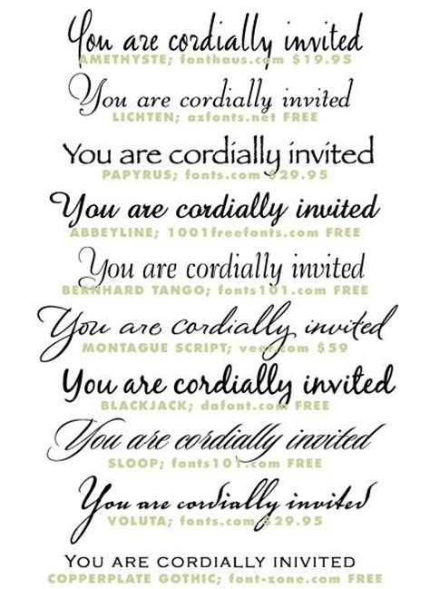 best wedding invitation font 25 best ideas about invitation fonts on