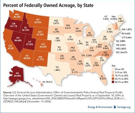 map of federally owned land in usa 12 states new state lands