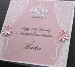 handmade personalised vintage style birthday card many colours 148mm square