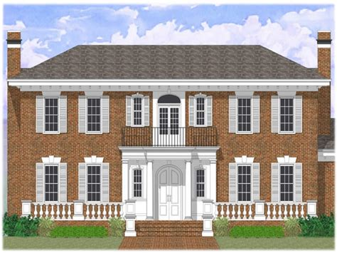 Colonial Revival House Plans by Colonial Revival House Plans Colonial House Plans