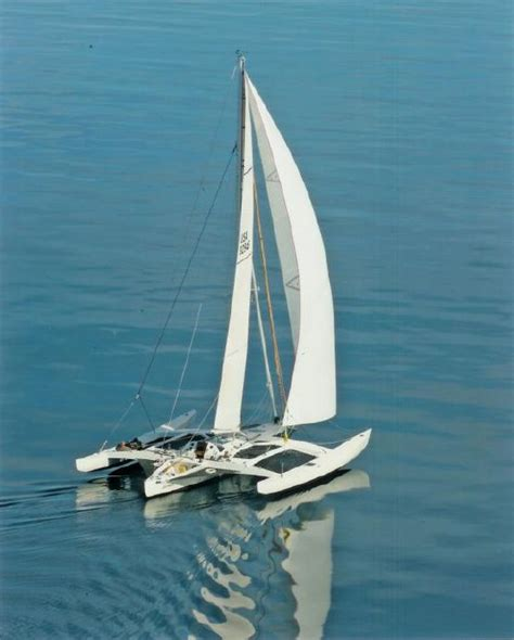 trimaran vs 2 racing trimarans vs catamarans all around performance
