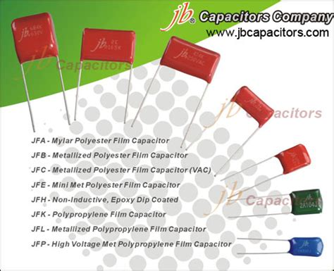 how to read polyester capacitor code jb jfa mylar polyester capacitor jb metallized polyester capacitor