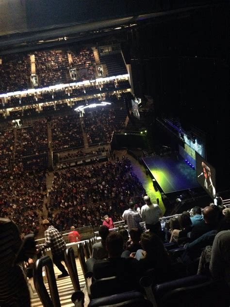 o2 section bk view from o2 arena london block 421 row r seat 957