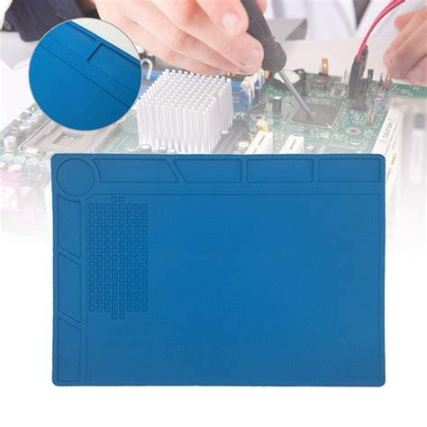 anti static desk mat liplasting anti static heat insulation silicone pad desk