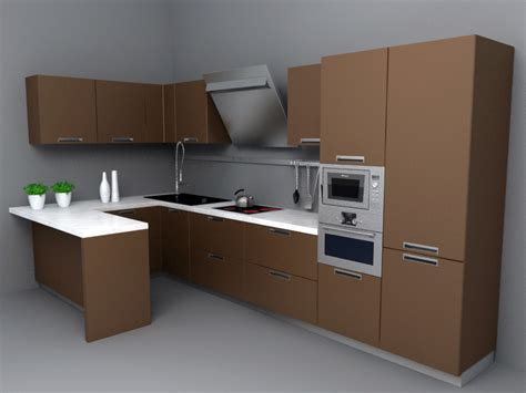 kitchen set downloadfree3d