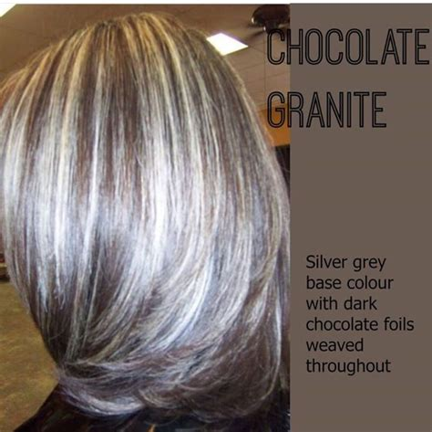 lowlights for gray hair short hairstyle 2013 short bob photos with chocolate lowlights in gray hair
