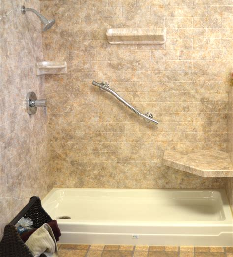 acrylic vs fiberglass bathtub acrylic shower walls vs tile shower walls