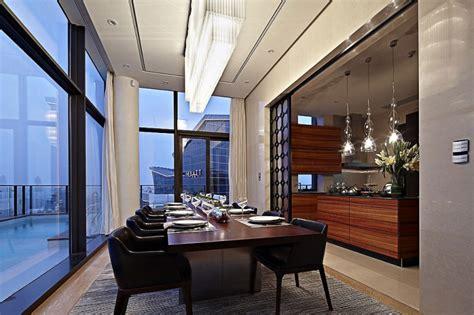 hong kong china luxury penthouses amazing duplex penthouse in china by kokaistudios