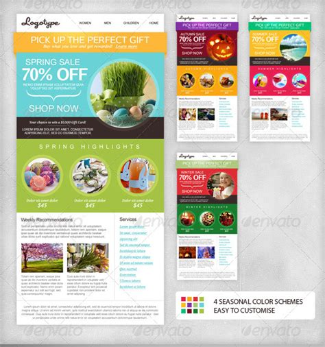 indesign email templates impressive newsletter template designs entheos