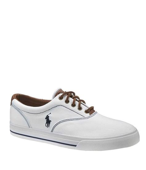 polo shoes polo ralph vaughn canvas shoes dillards