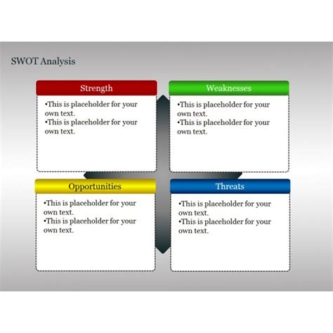 powerpoint swot template ppt template swot quotes