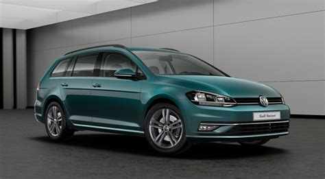 green volkswagen golf volkswagen golf sw 2017 couleurs colors