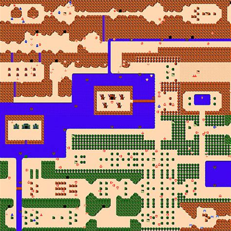 legend of zelda map nes walkthrough the maps i wandered into as a kid