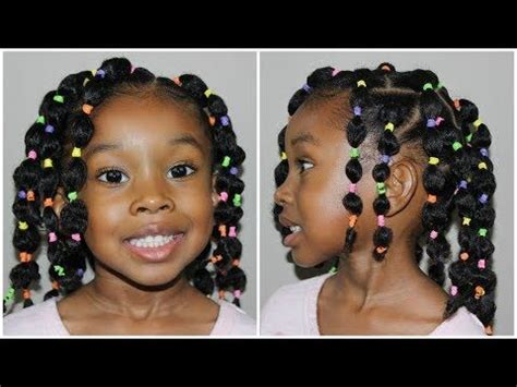 hairstyles with bubble top and back 1376 best little black girls hair images on pinterest