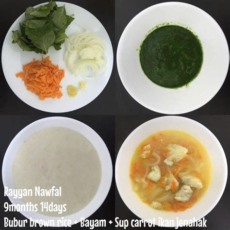 Rice Cooker Untuk Bubur Bayi untuk ibu yang dah kering idea 4 resipi bubur nasi ini