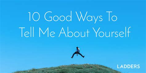 Mba Tips Tell Me About Yourself by How To Answer The Tell Me About Yourself