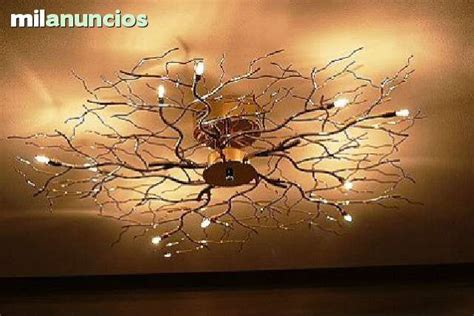lamparas de techo diseno arbol foto  ilumination en
