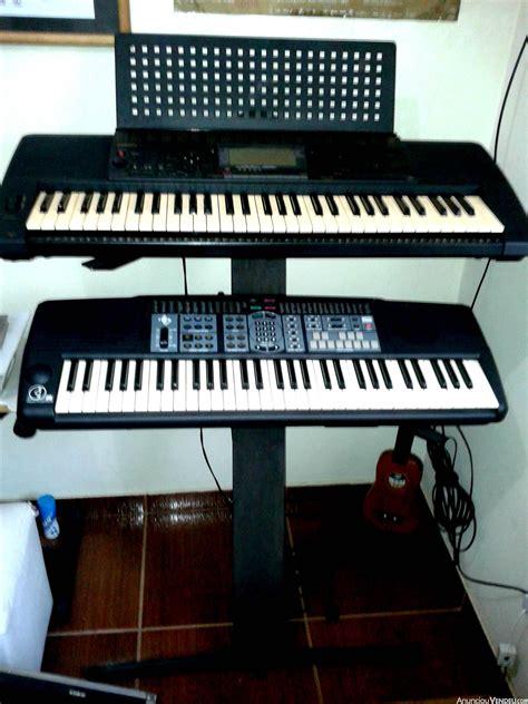 estante teclado estante madeira teclado clasf