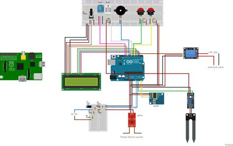 fritzing project simple  home automation
