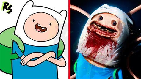 fotos terrorificas animadas 7 personajes de dibujos animados como criaturas