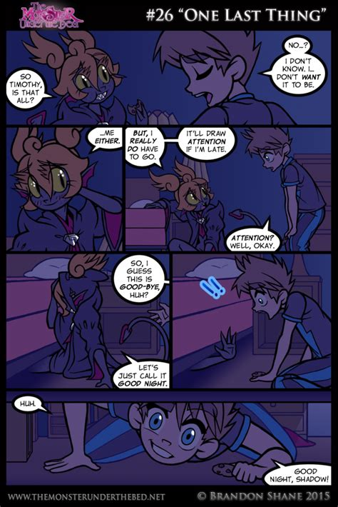 monster under the bed comic 26 one last thing the monster under the bed