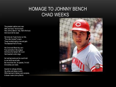 johnny bench big hands derick prez