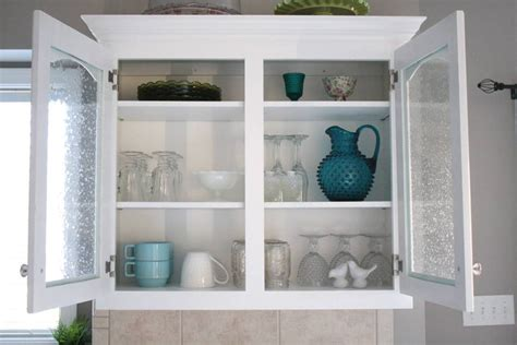 Simple Ways To Choose The Glass Kitchen Cabinet Doors My White Glass Door Kitchen Cabinets